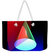 Conic Section Hyperbola Poster Weekender Tote Bag