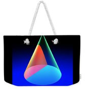 Conic Sections Hyperbola Poster 6 Weekender Tote Bag
