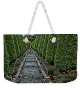 Conifer Lined Water Feature Weekender Tote Bag