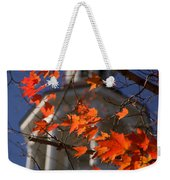 Connecticut Fall Colors Weekender Tote Bag by Jeff Folger
