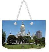 Connecticut State Capitol Hartford Weekender Tote Bag