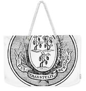 Connecticut State Seal Weekender Tote Bag