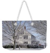 Connecticut Winter Weekender Tote Bag