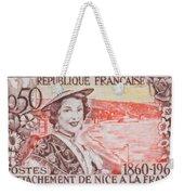 Connecting The Nice France 1860-1960 Weekender Tote Bag