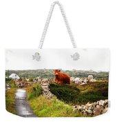 Connemara Cow Weekender Tote Bag