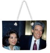 Connie Chung-maury Povich Weekender Tote Bag