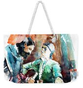 Conquistadores On The Boat In Vila Do Conde In Portugal Weekender Tote Bag