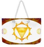 Conscious Spirituality Abstract Chakra Art By Omaste Witkowski Weekender Tote Bag