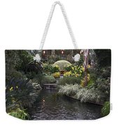 Conservatory In Autumn Weekender Tote Bag