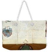 Constantijn Huygens Knighthood 1622 Weekender Tote Bag