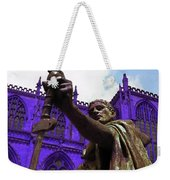 Constantine The Emperor At Yorkminster Weekender Tote Bag