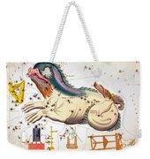 Constellation: Cetus Weekender Tote Bag