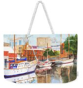Constitution Dock In Hobart Tasmania Weekender Tote Bag