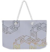 Construct Number Four Weekender Tote Bag