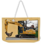 Construction Equipment 01 Weekender Tote Bag