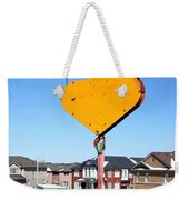 Construction Equipment Weekender Tote Bag