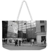 Construction In Black And White Weekender Tote Bag