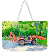 Construction Machinery Equipment 1 Weekender Tote Bag
