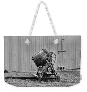 Construction - Vintage Cement Mixer Weekender Tote Bag