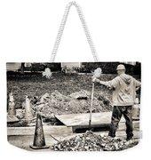 Construction Worker Weekender Tote Bag