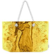 Consultation In Sepia Weekender Tote Bag