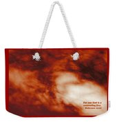 Consuming Fire Weekender Tote Bag