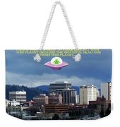 Contact With A Dead Planet Weekender Tote Bag