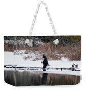 Contact With The Earth Weekender Tote Bag