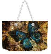 Contemplating The Butterfly Effect  Weekender Tote Bag