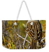 Contemplating The Day Weekender Tote Bag