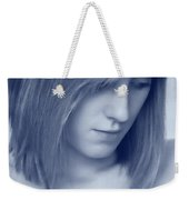 Contemplative Weekender Tote Bag by Amanda Elwell