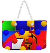 Contemporary Art Weekender Tote Bag