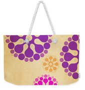 Contemporary Dandelions 2 Part 2 Of 3 Weekender Tote Bag