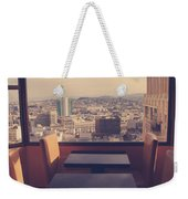 Continental Breakfast Weekender Tote Bag by Laurie Search