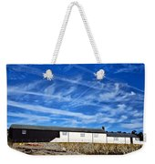 Contrails Over The Cobb Weekender Tote Bag