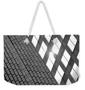 Contrasting Architecture Weekender Tote Bag