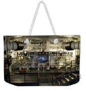 Control Board Engine Room Queen Mary Ocean Liner Long Beach Ca Weekender Tote Bag