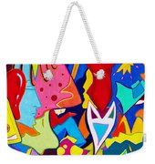 Controlled Chaos Weekender Tote Bag