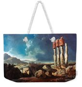 Cook: Easter Island, 1774 Weekender Tote Bag