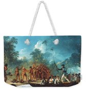 Cook New Hebrides, 1774 Weekender Tote Bag