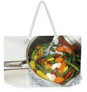 Cooked Mixed Vegetables Weekender Tote Bag