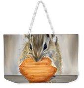 Cookie Time- Squirrel Eating A Cookie Weekender Tote Bag