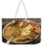 Cooking On A Boat In Shanty Town Weekender Tote Bag