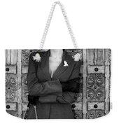 Cool Blonde Bw Palm Springs Weekender Tote Bag
