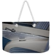 Cool Blue Abstract Weekender Tote Bag