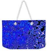 Cool Blue Weekender Tote Bag