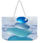 Cool Blues Weekender Tote Bag