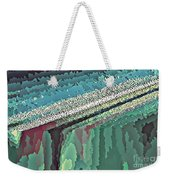 Cool Colors Abstraction Weekender Tote Bag