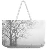 Cool Damp Foggy Weekender Tote Bag