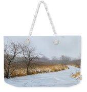 Cool Dreams Winter Weekender Tote Bag